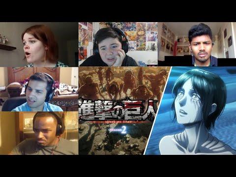 Attack On Titan :Shingeki No Kyojin Season 2 Episode 10 Reaction