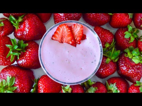 Творожный смузи ☆ Полезный завтрак за пару минут - Простые вкусные домашние видео рецепты блюд
