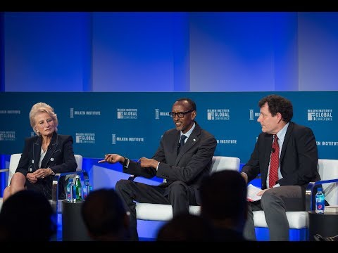 2019 Milken Institute Global Conference | Panel with President Kagame | Los Angeles, 30 April 2019