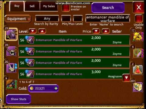 Arcane Legends, Selling Item Mythic,vanity,legendary