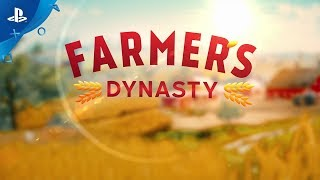 Farmer's Dynasty | Launch Trailer | PS4