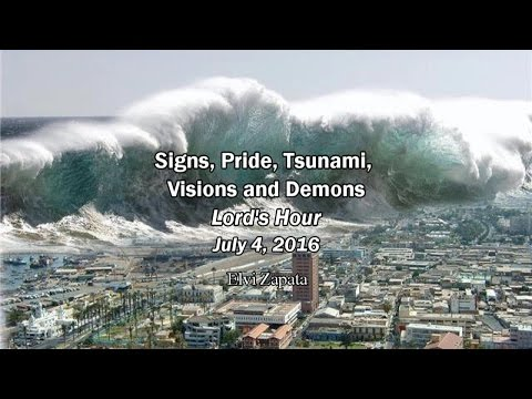 Signs, Pride, Tsunami, Visions and Demons - Elvi Zapata