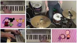 Linus and Lucy (Charlie Brown Theme) Drum Remix