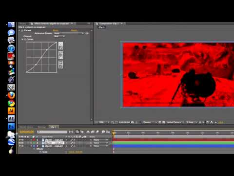 After Effects Tutorial: Color Correction + RGB Split Tutorial