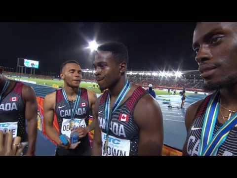 IAAF/BTC World Relays Bahamas 2017 - 4X200m Men Team Canada Gold