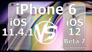 Speed Test : iPhone 6 : iOS 12 Beta 7