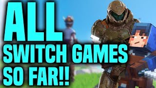 All New Switch Games So Far!! E3 2019 Announcements And Reveals!