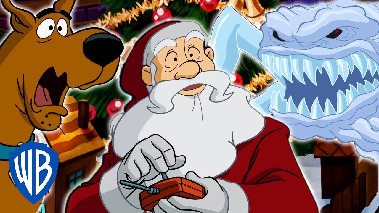 Scooby Doo Christmas.Scooby Doo Haunted Holidays Santa Vs The Snowman Wb Kids