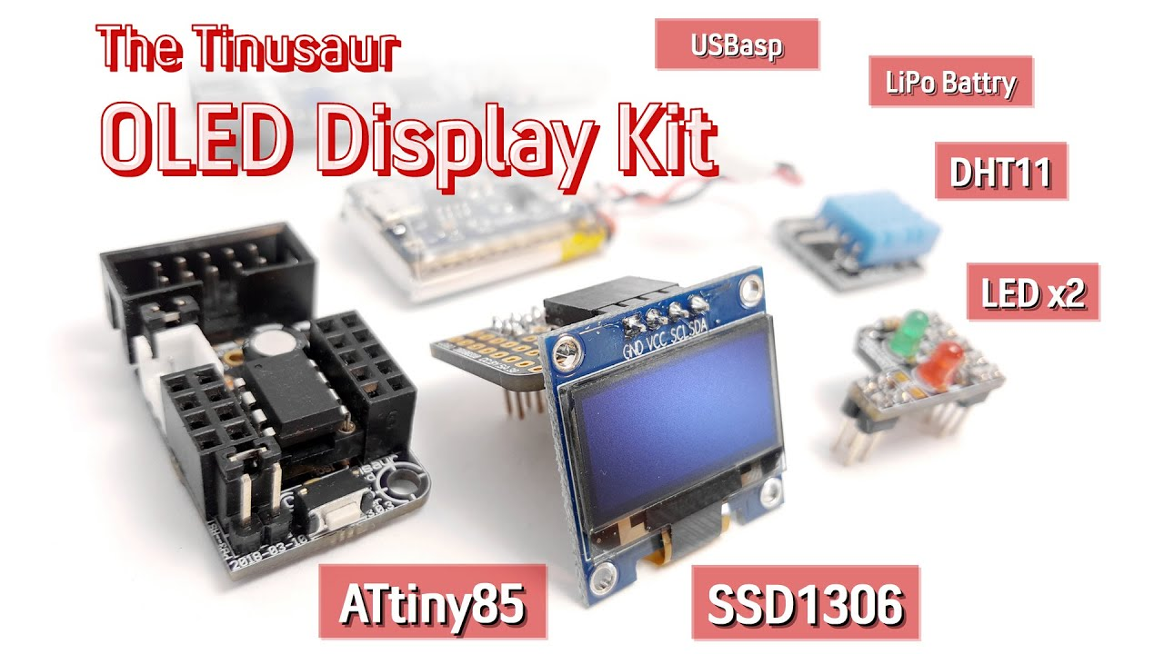 SSD1306xLED | The Tinusaur Project