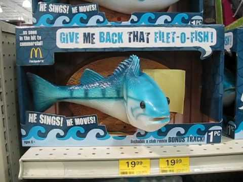 Singing Filet-O-Fish Fish
