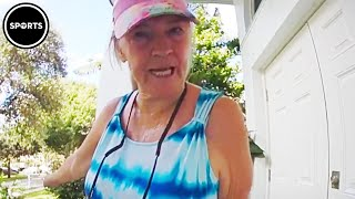 Trump Supporter FLIPS OUT When She Sees A Joe Biden Yard Sign