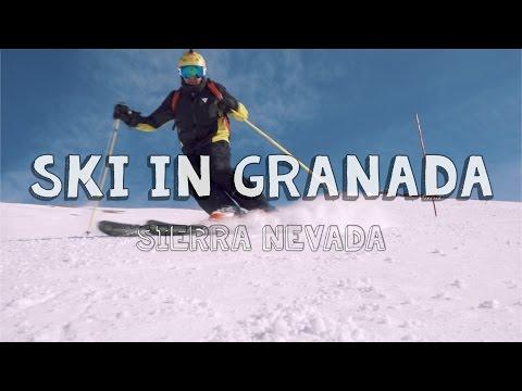 Travel to Granada: Skiing in Sierra Nevada, Andalucia I Vlog I Spain