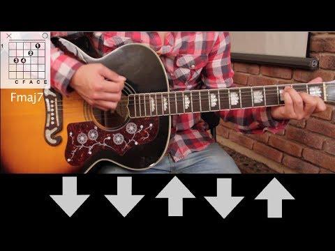 "Como tocar ""Luna"" de Zoé - Tutorial Guitarra (Acordes) HD"