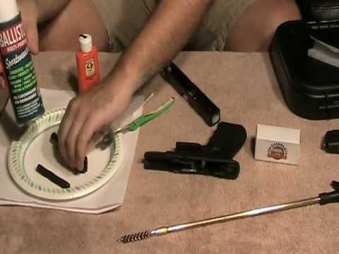 How to Clean a Glock (ANY GLOCK) 19,26,17,etc