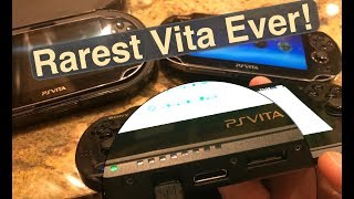 Rarest PS Vita Ever! 2018 Searching for 3.60 CFW