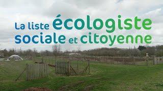 Le clip de campagne de la Liste écologiste, sociale et citoyenne, avec Frédéric Bourdon