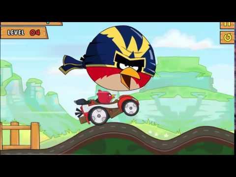 CARS CARTOONS RACING Angry Birds On machines МУЛЬТИК МАШИНКИ ИГРА ГОНКА ЗЛЫЕ ПТИЧКИ