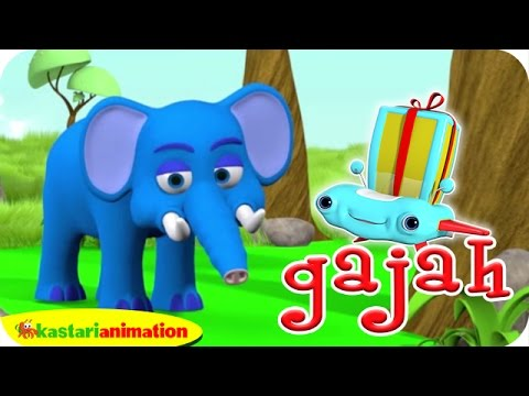 Gajah Kecil Kita Lalala Indonesia Kastari Animation Official