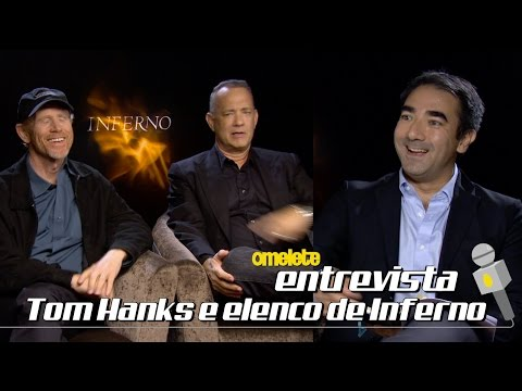 Tom Hanks e Elenco de Inferno | Omelete Entrevista
