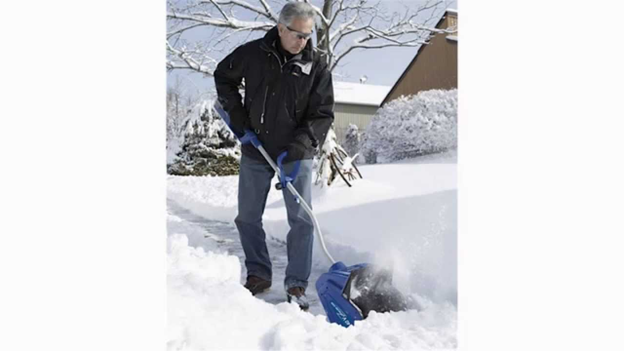 Best Electric Snow Blower >> Best Cordless Electric Snow Shovel Review - YouTube