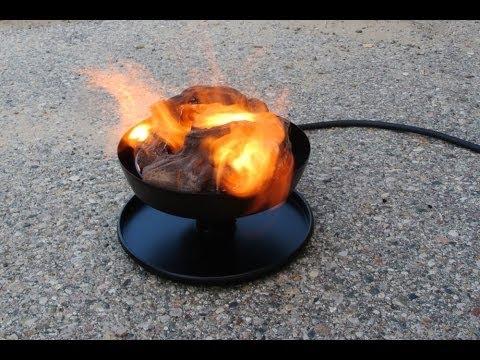 3 Portable Propane Outdoor Campfires Over 60 000 Btus