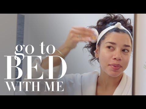 Hannah Bronfman's Nighttime Skin Care Routine | Go To Bed With Me | Harper's BAZAAR