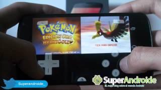 El preferible simulador de NDS (Nintendo DS) para android, Drastic