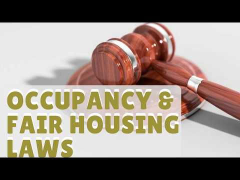 Occupancy & Fair Housing Laws Landlords in Livermore Must Know
