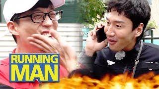 Yoo Jae Suk Didn't Say When He'd Hit Kwang Soo [Running Man Ep 420]