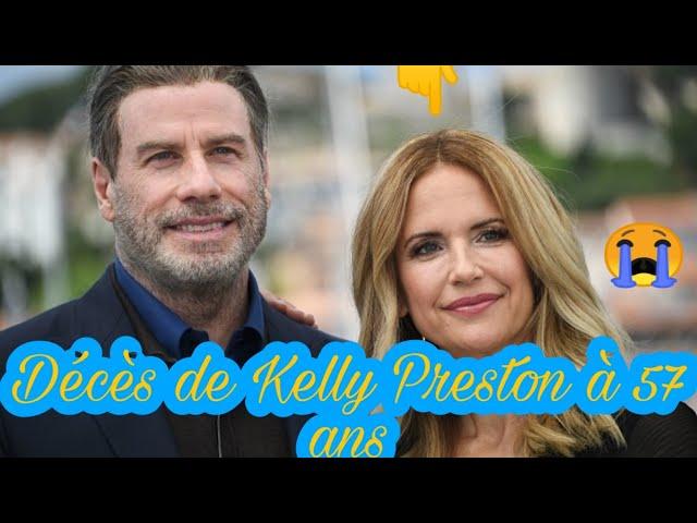 Décès de Kelly Preston, actrice et femme de John Travolta à 57 ans