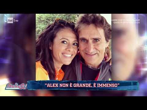 Giusy Versace: 'Alex Zanardi non è grande, è immenso!' - ItaliaSì! 20/06/2020