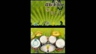 Ultimate Band Nintendo DS Gameplay - Drumming