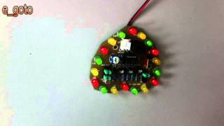 Light-control Electronic Production Project/diy Kits/diy Birthday Gift