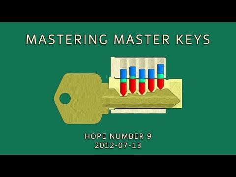 "Deviant Ollam ""Mastering Master Keys"" [HOPE Number 9]"