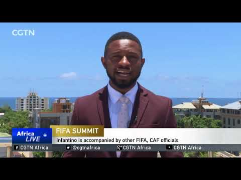 Infantino in Tanzania as country hosts its first FIFA summit