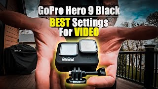 GoPro Hero 9 Black | Outright BEST SETTINGS FOR VIDEO [4K]