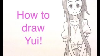 How to draw Yui