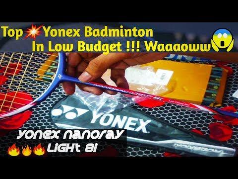 Yonex Nanoray Light 8i Unboxing & Review || Yonex Top Light Badminton || In Normal Budget