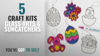 Top 10 Craft Kits Glass Arts & Suncatchers [2018]: Acrylic Easter Suncatcher Hanging Decorations