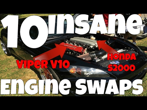 10 Insane Engine Swaps