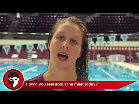 Sydney Pickrem - I was finally able to swim IM and breaststroke