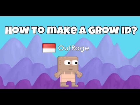 Growtopia: How to make a grow ID?