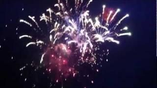 ap bank fes '11 最終日、最後の花火です。 クローク前の丘で撮影したの...