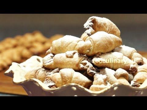 Ореховые рогалики -