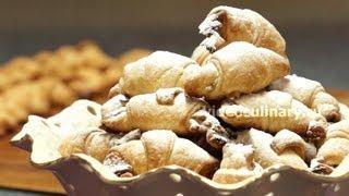 рогалики ореховые от бабушки эммы