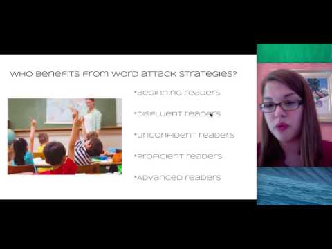 R Good Inservice Project Presentation Word Attack Strategies
