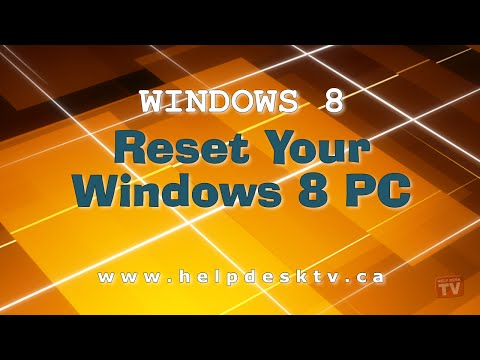 Windows 8.1: Reset To Factory Settings and Remove Perso... | Doovi
