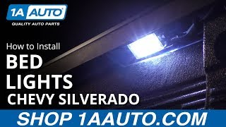 How to Install Truck Bed Lighting Kit 14-15 Chevy Silverado