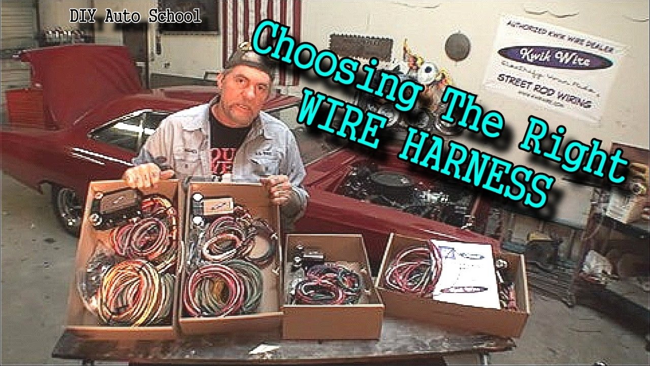 Which Wiring Harness Should I Use On My Car Or Truck Kwik Wirecom 36 Chevy Wire Youtube