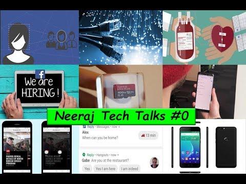 Neeraj Talks #0-Pak fastest Internet Fraud,S9 Price,Galaxy X,Google Reply,400GB SD,Bitcoin Founder